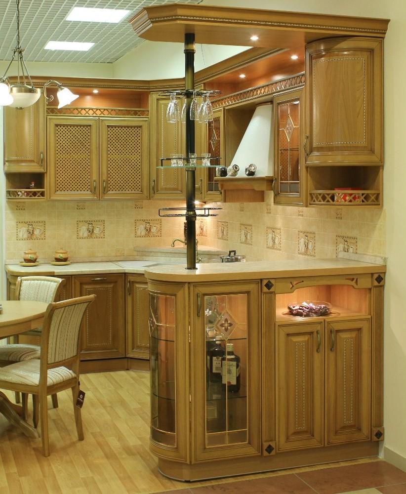 Классические кухни-Кухня из массива «Модель 127»-фото2