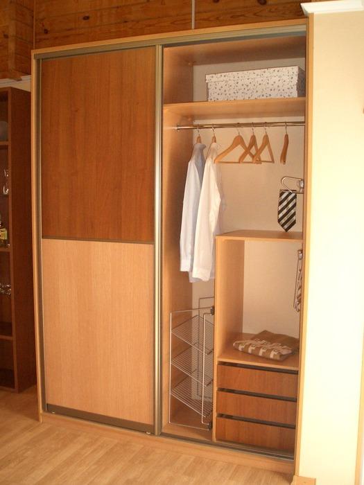 Встроенные шкафы-купе-Шкаф-купе из ЛДСП «Модель 174»-фото2