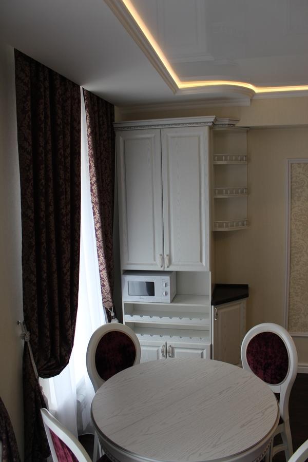 Белый кухонный гарнитур-Кухня из шпона «Модель 43»-фото6