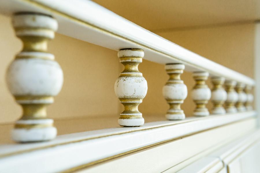 Белый кухонный гарнитур-Кухня МДФ в пластике «Модель 50»-фото9