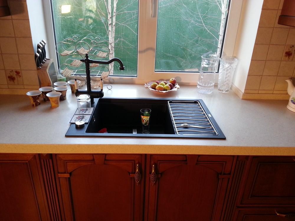 Встроенная кухня-Кухня из массива «Модель 291»-фото4