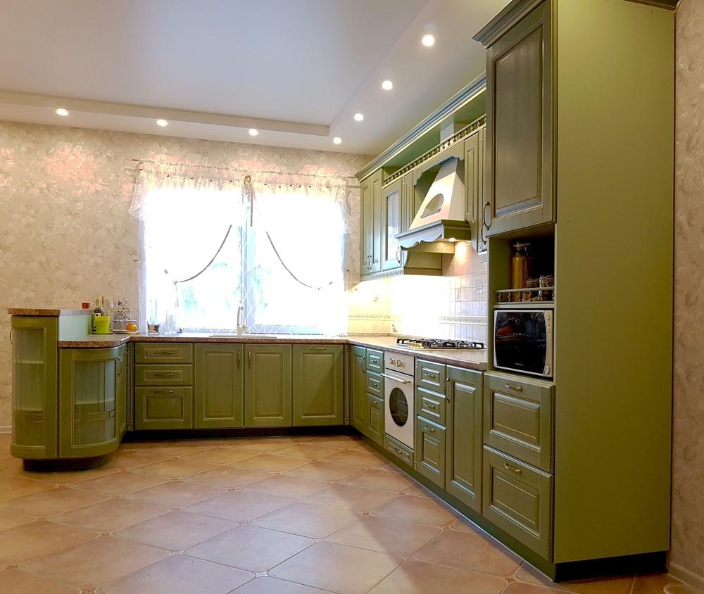 Классические кухни-Кухня из массива «Модель 23»-фото2