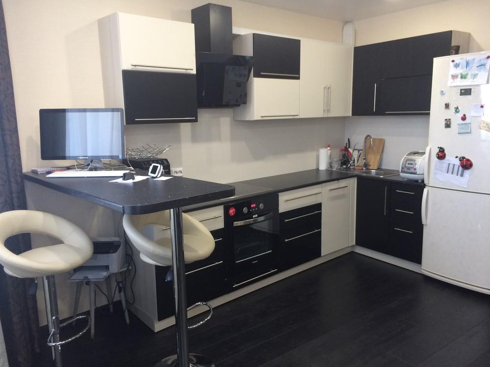 Встроенная кухня-Кухня МДФ в ПВХ «Модель 108»-фото3