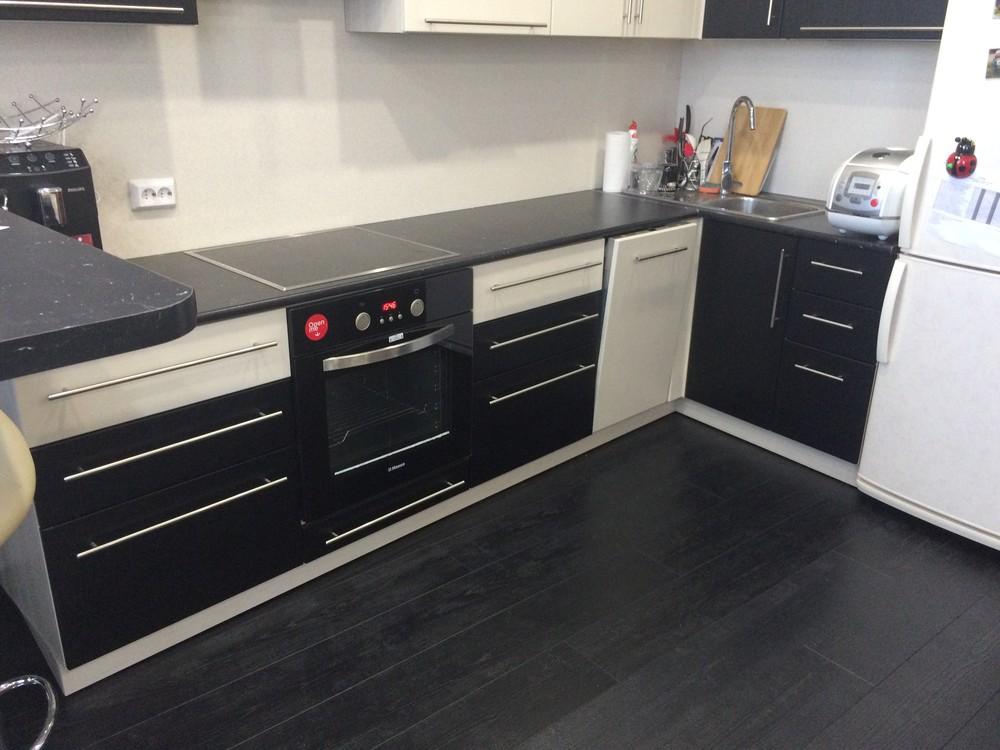 Встроенная кухня-Кухня МДФ в ПВХ «Модель 108»-фото4