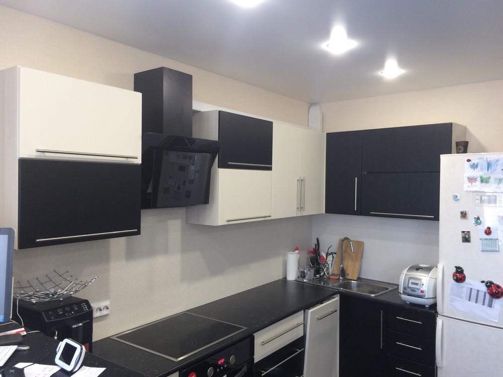 Встроенная кухня-Кухня МДФ в ПВХ «Модель 108»-фото5