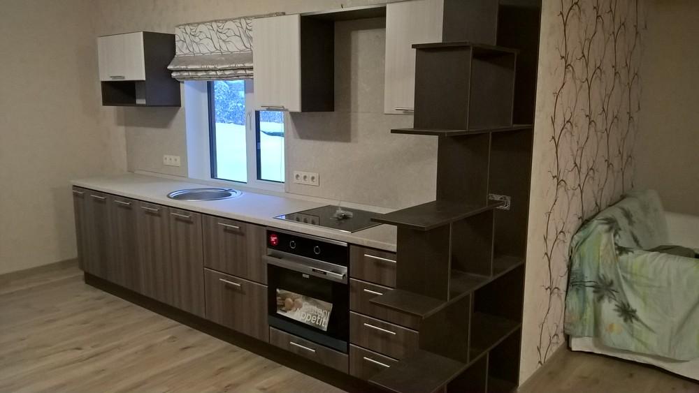 Купить кухню-Кухня МДФ в ПВХ «Модель 96»-фото1
