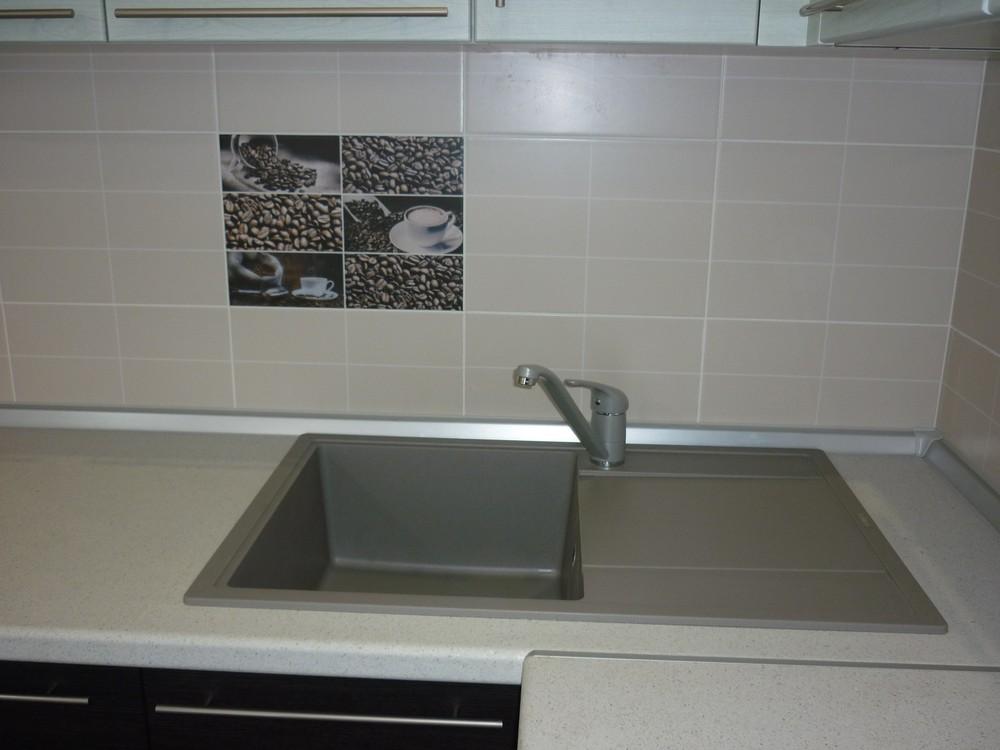 Встроенная кухня-Кухня МДФ в ПВХ «Модель 206»-фото3