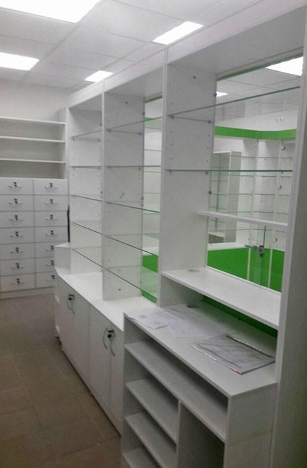 Торговая мебель-Мебель для аптеки «Модель 189»-фото3
