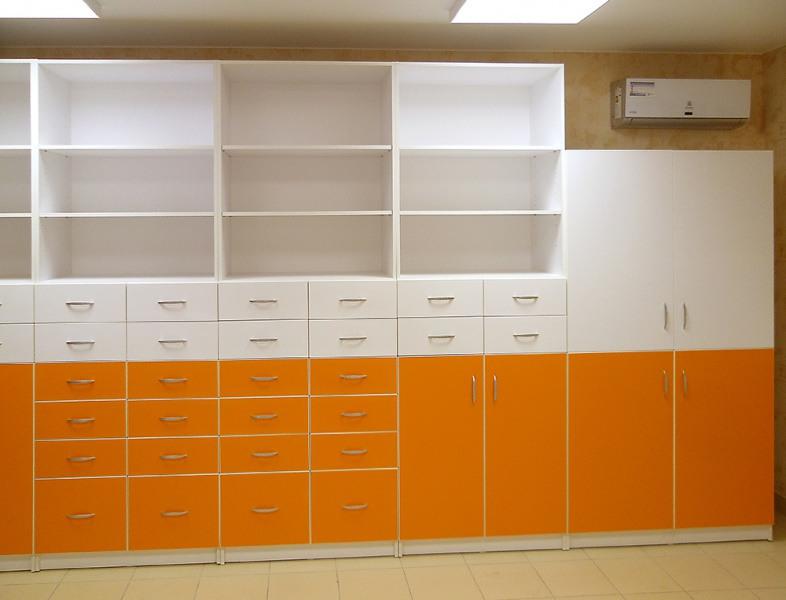 Торговая мебель-Мебель для аптеки «Модель 195»-фото2