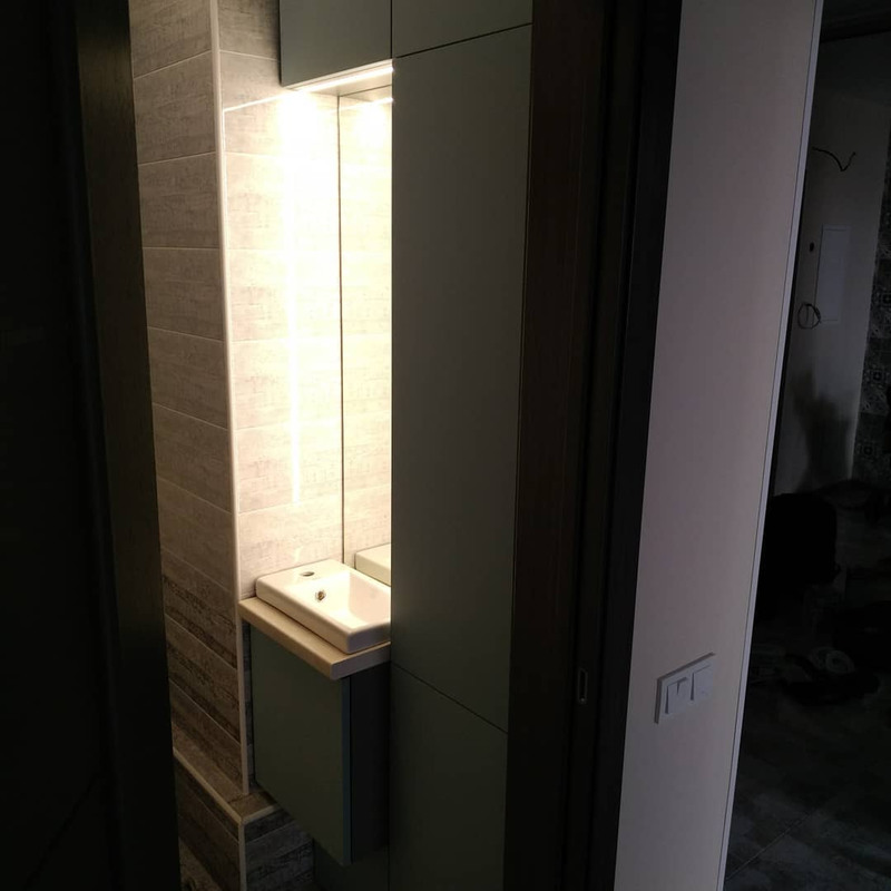 Мебель для ванной комнаты-Мебель для ванной «Модель 5»-фото4