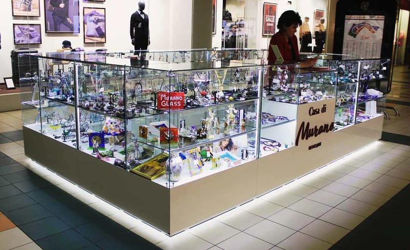 Торговая мебель-Торговый островок «Модель 250»-фото3
