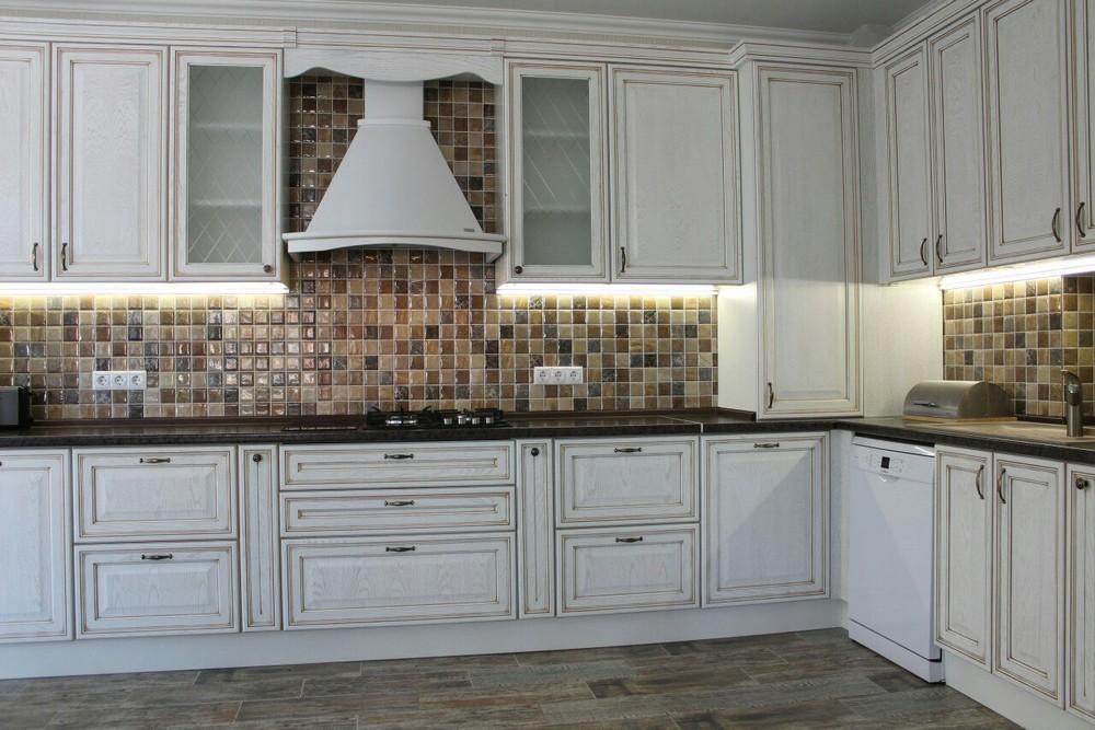 Акриловые кухни-Кухня из пластика «Модель 136»-фото2