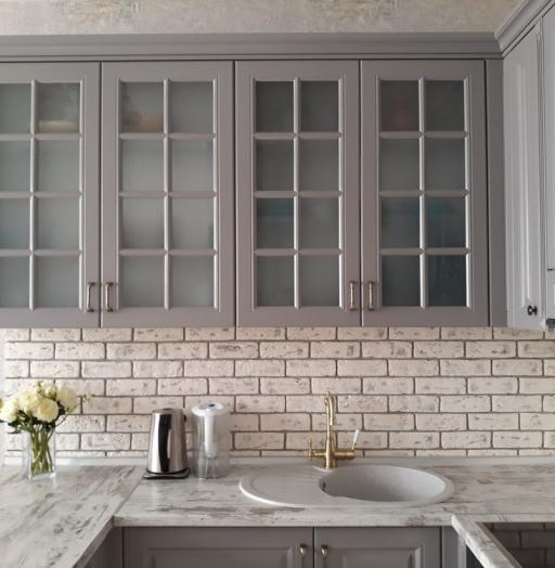-Кухня МДФ в эмали «Модель 281»-фото22