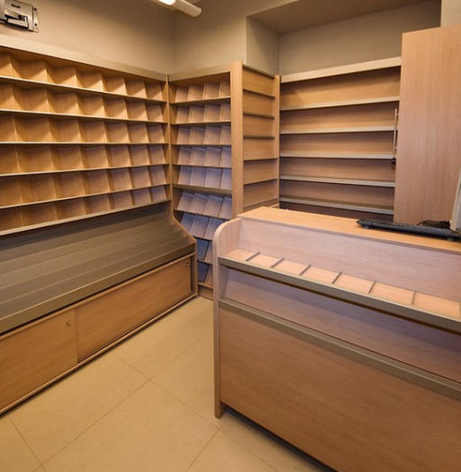Торговая мебель-Мебель для магазина «Модель 11»-фото1