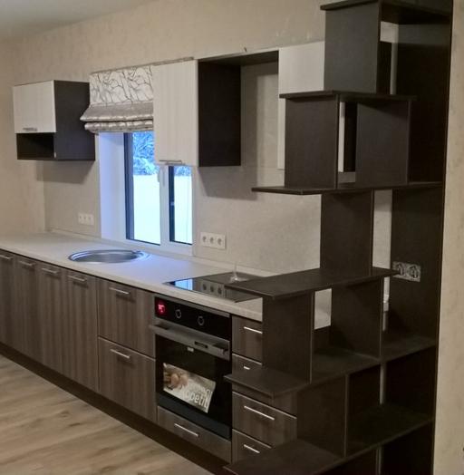 Купить кухню-Кухня МДФ в ПВХ «Модель 96»-фото3