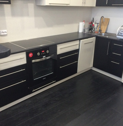 Встроенная кухня-Кухня МДФ в ПВХ «Модель 108»-фото6