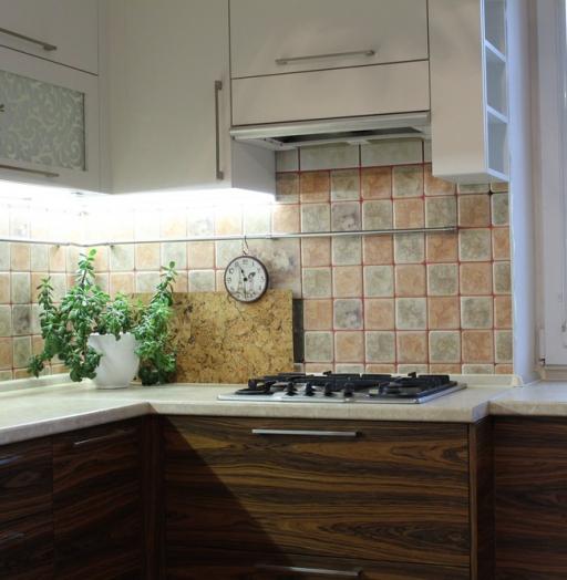 Встроенная кухня-Кухня МДФ в ПВХ «Модель 118»-фото6