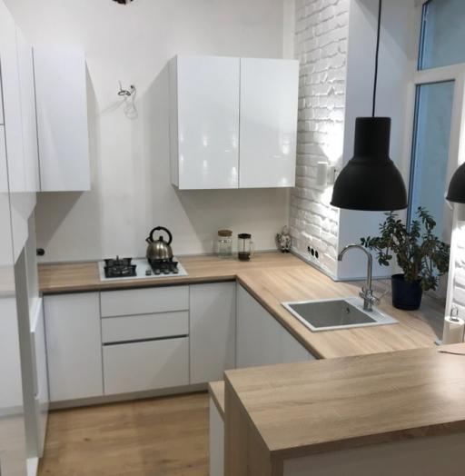 Акриловые кухни-Кухня из акрила «Модель 106»-фото6