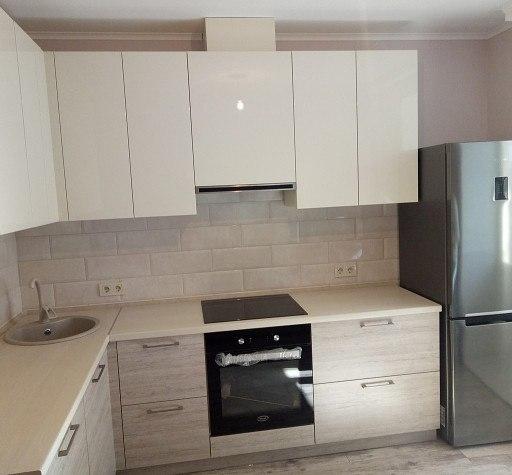 Белый кухонный гарнитур-Кухня из ЛДСП «Модель 400»-фото3