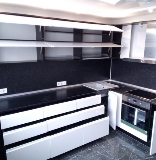 -Кухня МДФ в эмали «Модель 430»-фото24