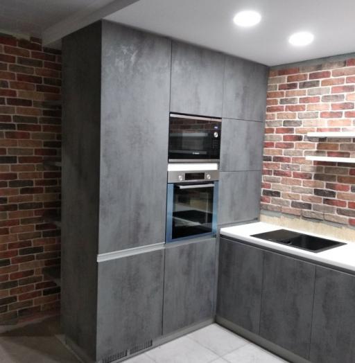 Купить кухню-Кухня МДФ в ПВХ «Модель 442»-фото6