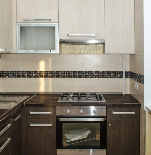 Акриловые кухни-Кухня из пластика «Модель 133»-фото5