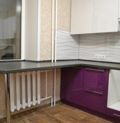 Встроенная кухня-Кухня МДФ в ПВХ «Модель 161»-фото8