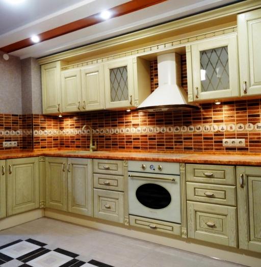 -Кухня МДФ в эмали «Модель 301»-фото29