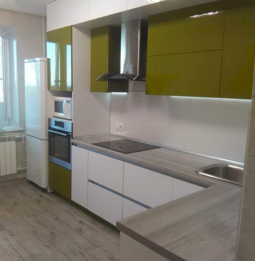 -Кухня из пластика «Модель 572»-фото14